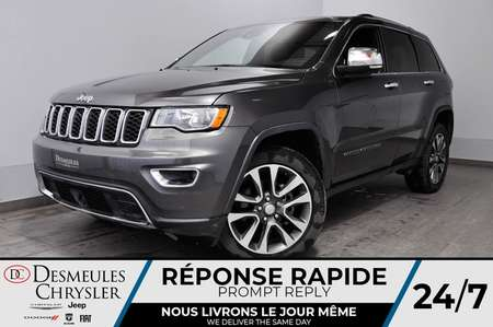 2018 Jeep Grand Cherokee Limited + CAM DE RECUL + BLUETOOTH + BANCS CHAUFF for Sale  - DC-81202  - Desmeules Chrysler