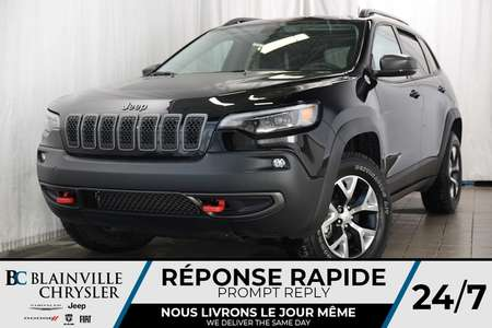 2019 Jeep Cherokee TRAILHAWK + 4X4 + V6 3.2L + BLUETOOTH + NAV + MAGS for Sale  - 90100  - Blainville Chrysler