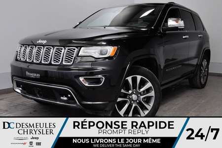 2018 Jeep Grand Cherokee Overland + BANCS CHAUFF + CAM RECUL + NAVIG for Sale  - DC-81011  - Desmeules Chrysler