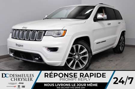 2018 Jeep Grand Cherokee Overland +NAV+CAM RECUL+ A/C MULTI +BANCS CHAUFF for Sale  - DC-81027  - Desmeules Chrysler