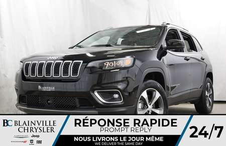 2019 Jeep Cherokee Limited for Sale  - 90108  - Desmeules Chrysler