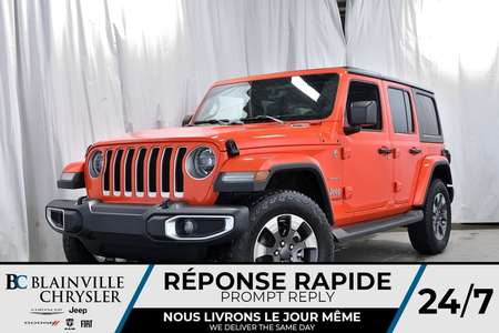 2019 Jeep Wrangler Unlimited Sahara for Sale  - 90130  - Blainville Chrysler