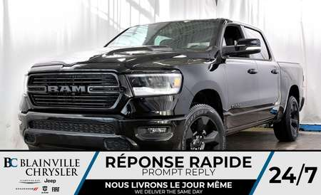 2019 Ram 1500 REBEL CREW CAB + SPORT + V8 5.7L HEMI + MAGS 20'' for Sale  - 90137  - Blainville Chrysler