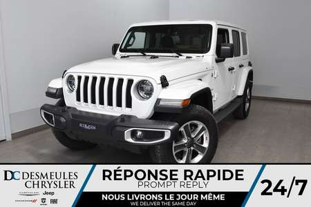 2019 Jeep Wrangler Unlimited Sahara for Sale  - DC-91002  - Desmeules Chrysler