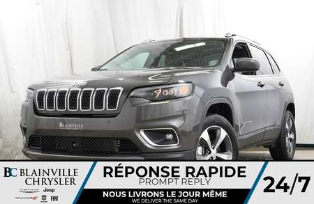 2019 Jeep Cherokee LIMITED + 4X4 + V6 3.6L + NAV + BLUETOOTH + MAGS for Sale  - 90099  - Desmeules Chrysler