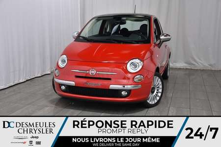 2017 Fiat 500 Lounge for Sale  - DC-71473  - Desmeules Chrysler