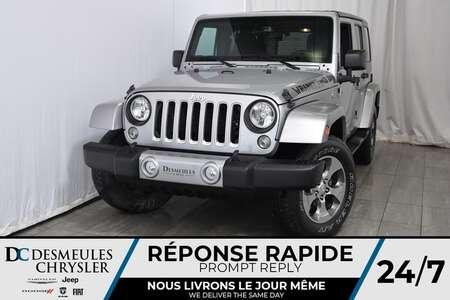 2016 Jeep Wrangler Sahara * UNLIMITED * 4X4 * Bancs Chauffants for Sale  - DC-A1039  - Blainville Chrysler