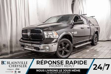 2016 Ram 1500 Outdoorsman +ÉCRAN 8,4 + GPS + ENSSEMBLE for Sale  - BC-P1498  - Desmeules Chrysler