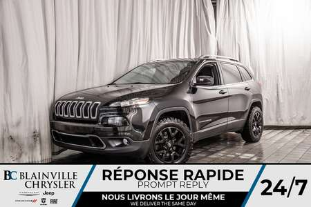 2016 Jeep Cherokee LIMITED * CUIR * ECRAN 8.4 for Sale  - BC-P1506  - Blainville Chrysler