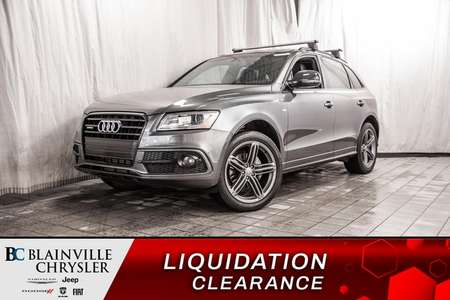 2016 Audi Q5 2.0T S-LINE * COMPETITION PACK * TOIT PANO * for Sale  - BC-P1527  - Desmeules Chrysler