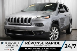 2017 Jeep Cherokee Limited+GPS+CUIR+MAG+CAM RECUL+ALERTE ANGLE MORT  - BC-P1028  - Blainville Chrysler