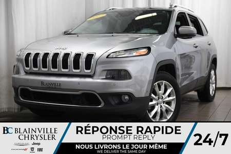 2017 Jeep Cherokee Limited+GPS+CUIR+MAG+CAM RECUL+ALERTE ANGLE MORT for Sale  - BC-P1028  - Desmeules Chrysler