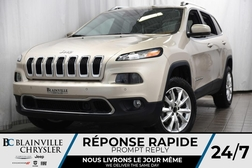 2014 Jeep Cherokee Limited+CAM RECUL+CUIR+CRUISE CONTROL ADAPT.+  - BC-P1146  - Desmeules Chrysler