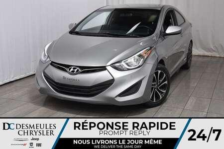 2014 Hyundai Elantra Coupe COUPE GS * Manuelle * Sièges Chauff * A/C for Sale  - DC-M1140  - Desmeules Chrysler