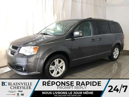 2018 Dodge Grand Caravan CREW PLUS * CUIR * PORTES ELECTRIQUE * STOW'N'GO for Sale  - BC-P1591  - Blainville Chrysler