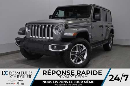 2019 Jeep Wrangler Sahara + TURBO + WIFI + BANCS CHAUFF *153$/SEM for Sale  - DC-91104  - Desmeules Chrysler