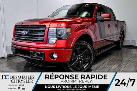 2014 Ford F-150 FX4 + toit ouv + cam recul + bancs chauff for Sale  - DC-D1719  - Desmeules Chrysler