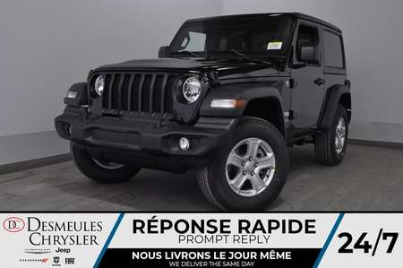 2020 Jeep Wrangler Sport S + TURBO + BLUETOOTH *115$/SEM for Sale  - DC-20153  - Desmeules Chrysler