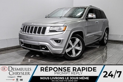 2016 Jeep Grand Cherokee Overland + bancs et volant chauff + navig *WOW*  - DC-D1947  - Blainville Chrysler