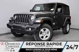 2020 Jeep Wrangler Sport S + BANCS CHAUFF + BLUETOOTH *112$/SEM  - DC-20152  - Desmeules Chrysler