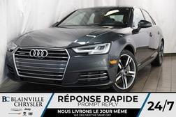 2017 Audi A-4 TECHNIK * QUATTRO * GPS * INTÉRIEUR BRUN *  - BC-P1212  - Desmeules Chrysler