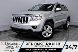 2012 Jeep Grand Cherokee Laredo + bancs et volant chauff + uconnect + cam  - DC-D1937A  - Desmeules Chrysler