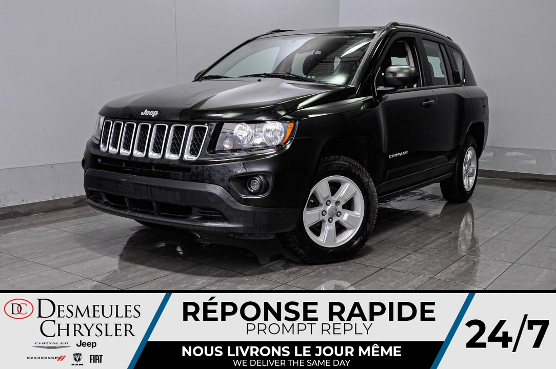 2017 Jeep Compass  - Desmeules Chrysler