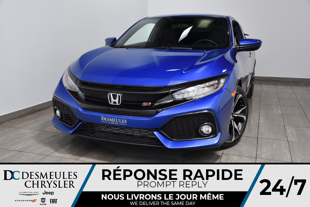 2018 Honda Civic Si Coupe  - Blainville Chrysler