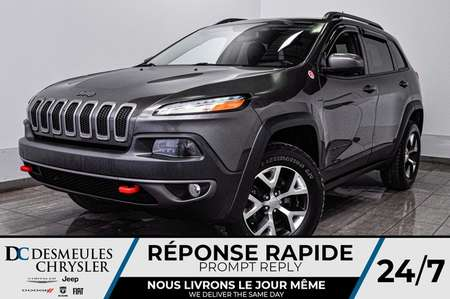 2016 Jeep Cherokee Trailhawk *GPS *A/C *Comm au volant for Sale  - DC-90019A  - Desmeules Chrysler