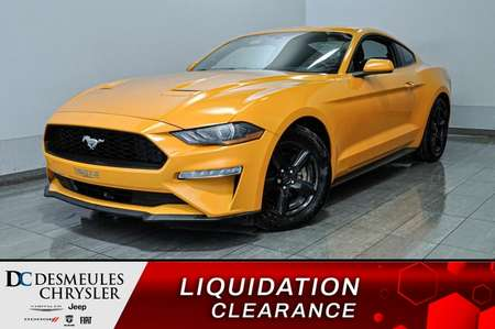 2018 Ford Mustang EcoBoost * Cam Rec * Automatique * for Sale  - DC-A1404  - Blainville Chrysler