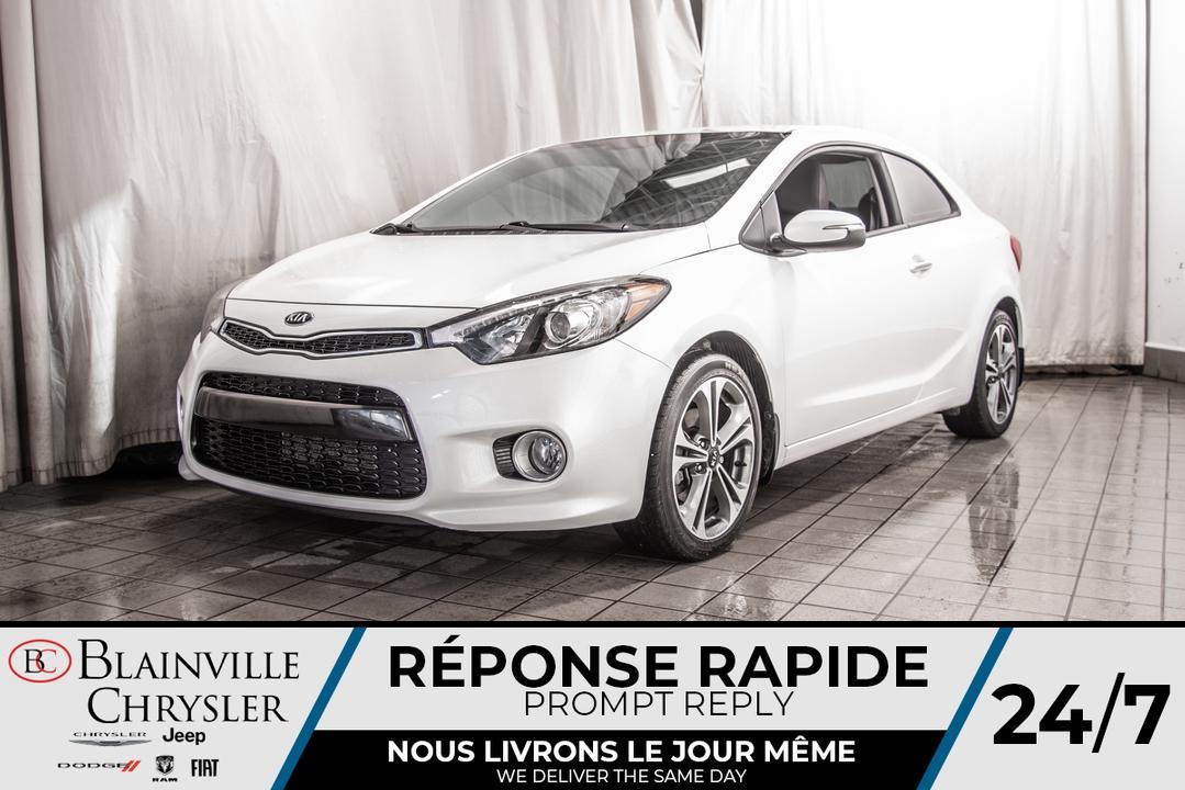 2016 Kia FORTE KOUP  - Desmeules Chrysler