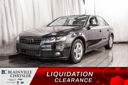 2012 Audi A-4 2.0T * CUIR * BANCS CHAUFF * TOIT OUVRANT *  - BC-P1387C  - Desmeules Chrysler