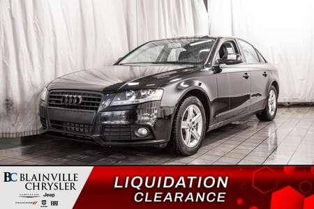 2012 Audi A-4 2.0T * CUIR * BANCS CHAUFF * TOIT OUVRANT * for Sale  - BC-P1387C  - Desmeules Chrysler