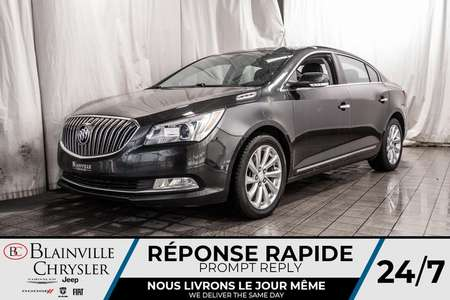 2014 Buick LaCrosse LEATHER GROUP * CUIR * SIEGE CHAUFFANT * CRUISE * for Sale  - BC-P1536  - Desmeules Chrysler