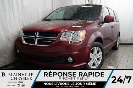 2018 Dodge Grand Caravan CREW PLUS * MAGS * BLUETOOTH * NAV * HOMELINK for Sale  - BC-P1439  - Desmeules Chrysler