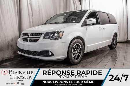2018 Dodge Grand Caravan GT * CUIR * STOW'N'GO * BAS KM * ÉCRAN 6.5'' * for Sale  - BC-P1546  - Blainville Chrysler