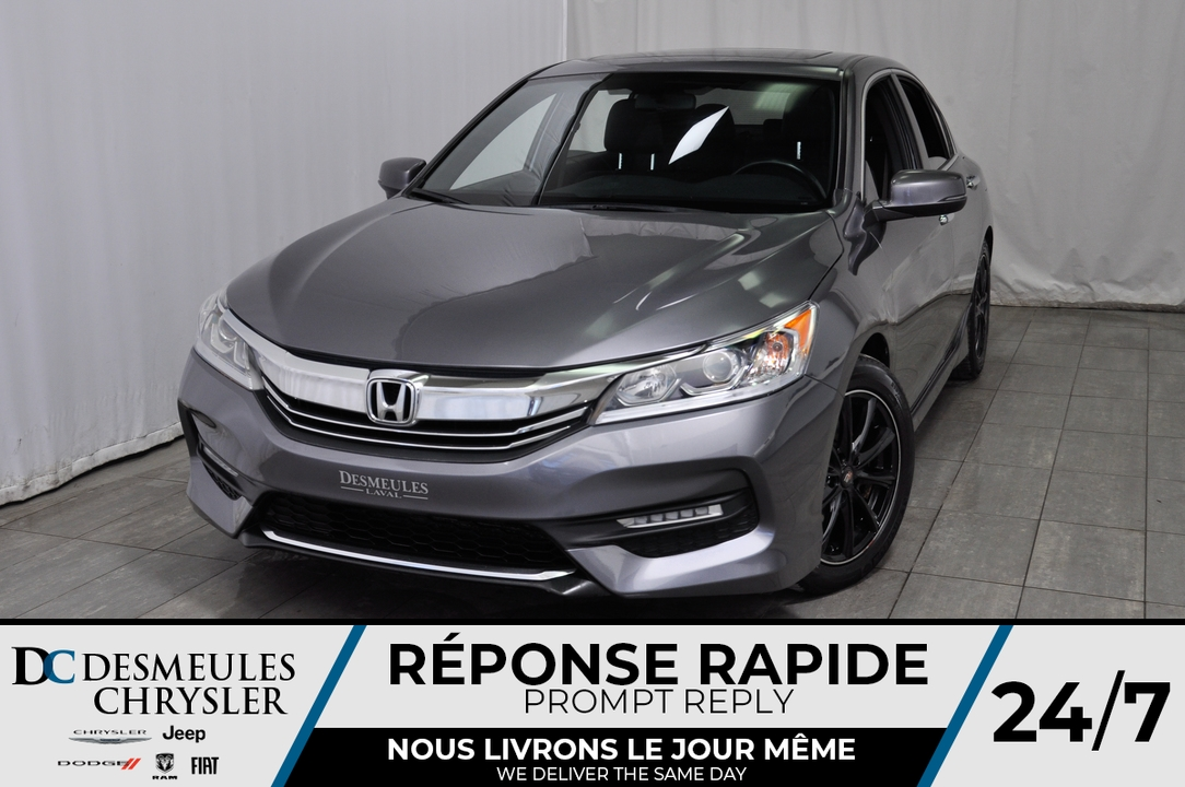 2016 Honda Accord Sedan  - Desmeules Chrysler