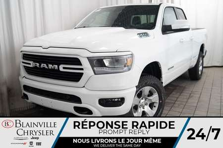 2020 Ram 1500 BIGHORN * MAGS * 4X4 * BLUETOOTH * U CONNECT for Sale  - BC-20079  - Desmeules Chrysler