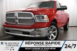 2017 Ram 1500 117$/SEM + LARAMIE + QUAD CAB + V8 5.7L + MAGS  - BC-P1216  - Desmeules Chrysler