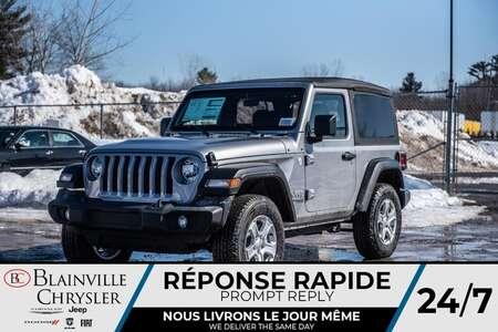 2020 Jeep Wrangler Sport S for Sale  - BC-20020  - Blainville Chrysler