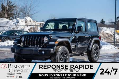 2020 Jeep Wrangler Sport * for Sale  - BC-20017  - Desmeules Chrysler