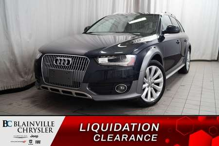 2015 Audi A4 allroad PROGRESSIV * QUATTRO * TOIT PANO * BLUETOOTH * NAV for Sale  - BC-P1415  - Desmeules Chrysler