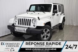 2017 Jeep Wrangler GPS * BLUETOOTH * SAHARA 4X4  - DC-DE71281  - Blainville Chrysler