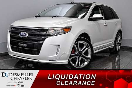 2013 Ford Edge Sport + bancs chauff + navig + toit ouv for Sale  - DC-D1715  - Desmeules Chrysler