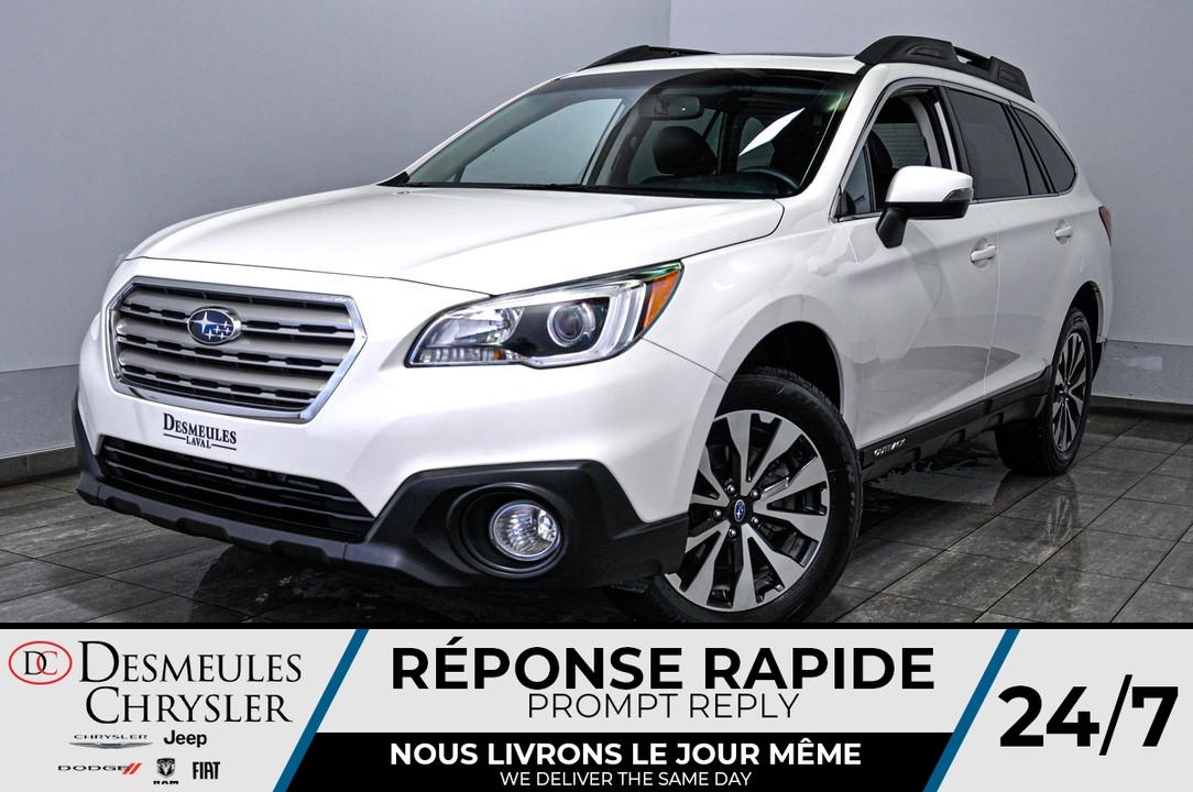 2017 Subaru Outback  - Desmeules Chrysler