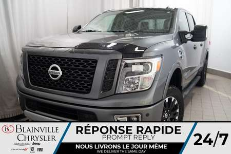2018 Nissan Titan XD SL * MAGS * 4X4 * BLUETOOTH * NAV * CAM RECUL for Sale  - BC-P1444  - Desmeules Chrysler