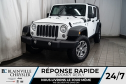 2018 Jeep Wrangler JK Unlimited RUBICON * MAGS * 4X4 * BLUETOOTH * NAV * CLIM  - BC-P1454  - Blainville Chrysler