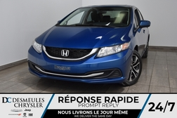 2015 Honda Civic Sedan LX * Sièges chauff  * Cam Rec * 63$/Semaine  - DC-M1410  - Desmeules Chrysler