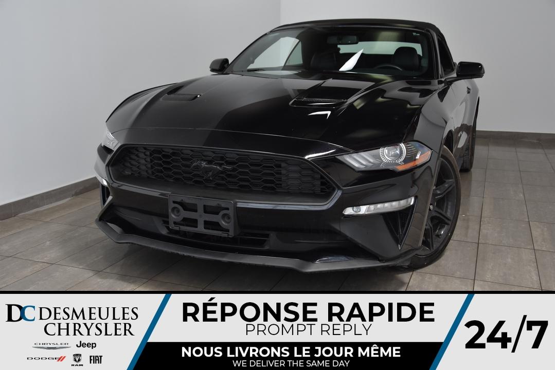 2018 Ford Mustang  - Desmeules Chrysler