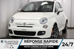 2012 Fiat 500 26$/SEM + SPORT + CUIR + MAGS + BLUETOOTH  - BC-70815A  - Desmeules Chrysler